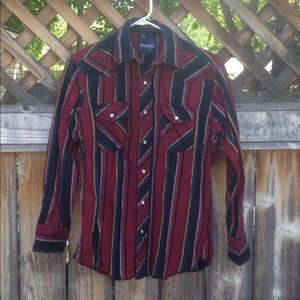 Wrangler western flannel